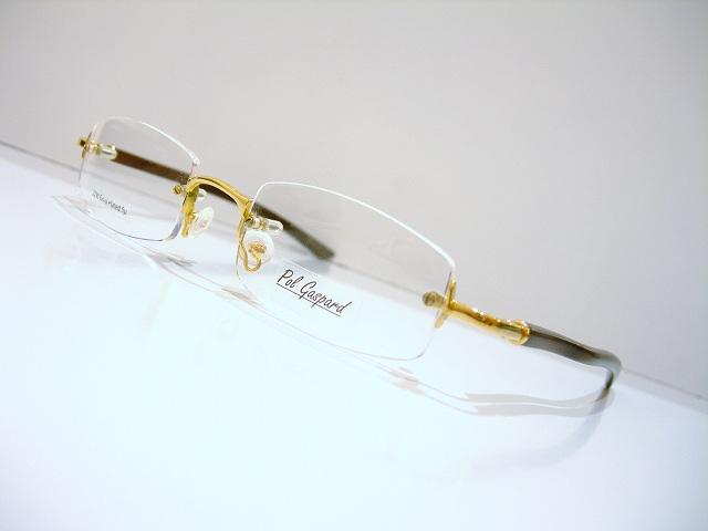 57962ddeeb Pol Gaspard (ポル ガスパード) RM43 51 SZ 07」のふちなしメガネ ...